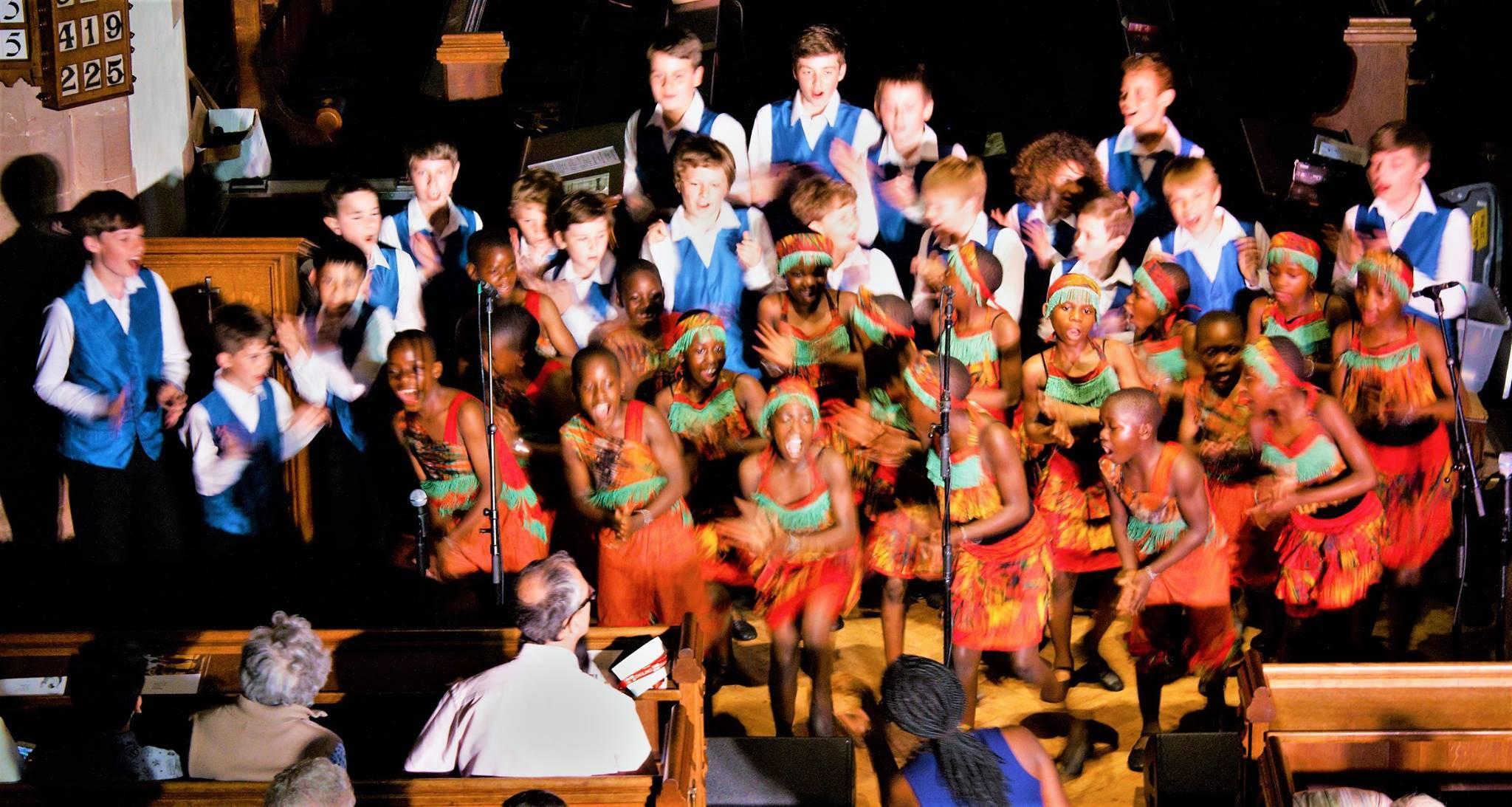 African Children's Choir May 2017