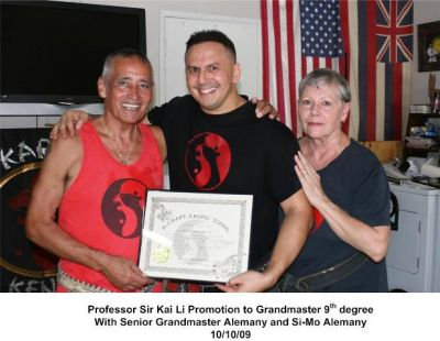 Kai Li promotion from Rick Alemany
