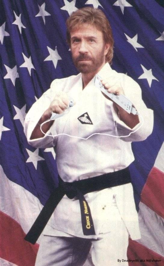 Chuck Norris is Wii