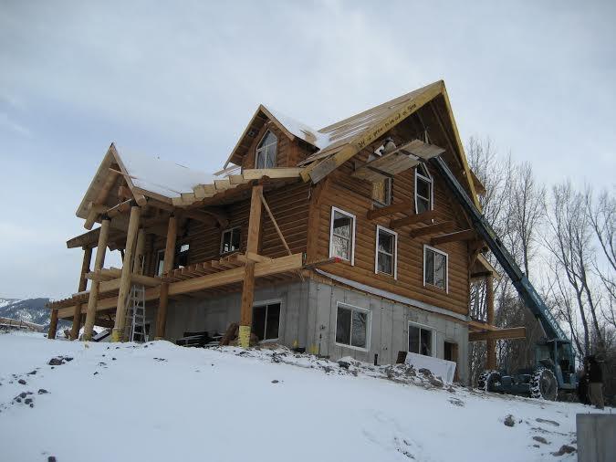 exterior work with Garrison Evans