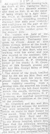 Barr, Catharine - Part 1 - 1934