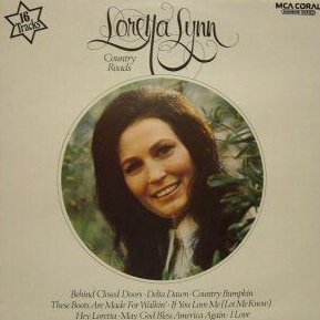 Loretta Lynn Country Roads JUNE 5TH 1972 IMPORT