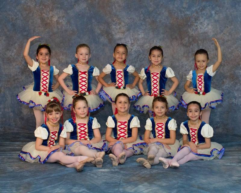 Bavarian Ballerinas