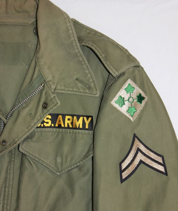 4th infantry Soldier mid 1950's: