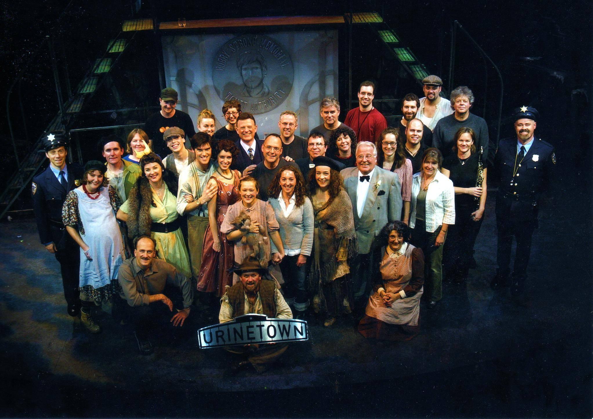 Cast & Crew, Urinetown, Belfry Theatre, Fall 2006