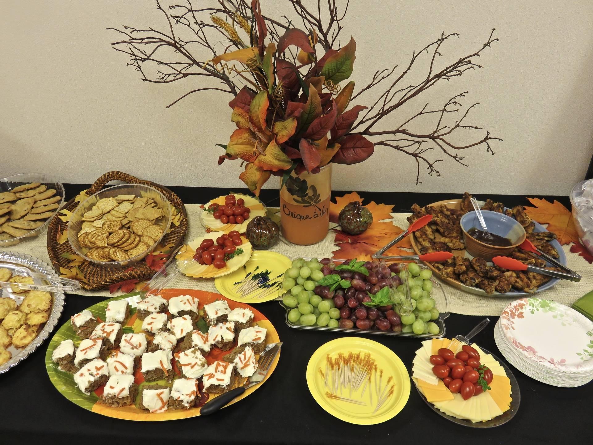 Reception Food Art