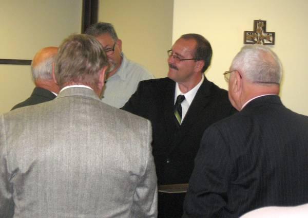 Pastor Thacker Ordination Ceremony