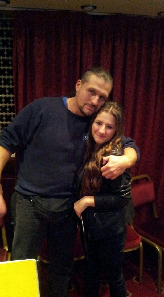 Amber Yearsley with Joe Legend