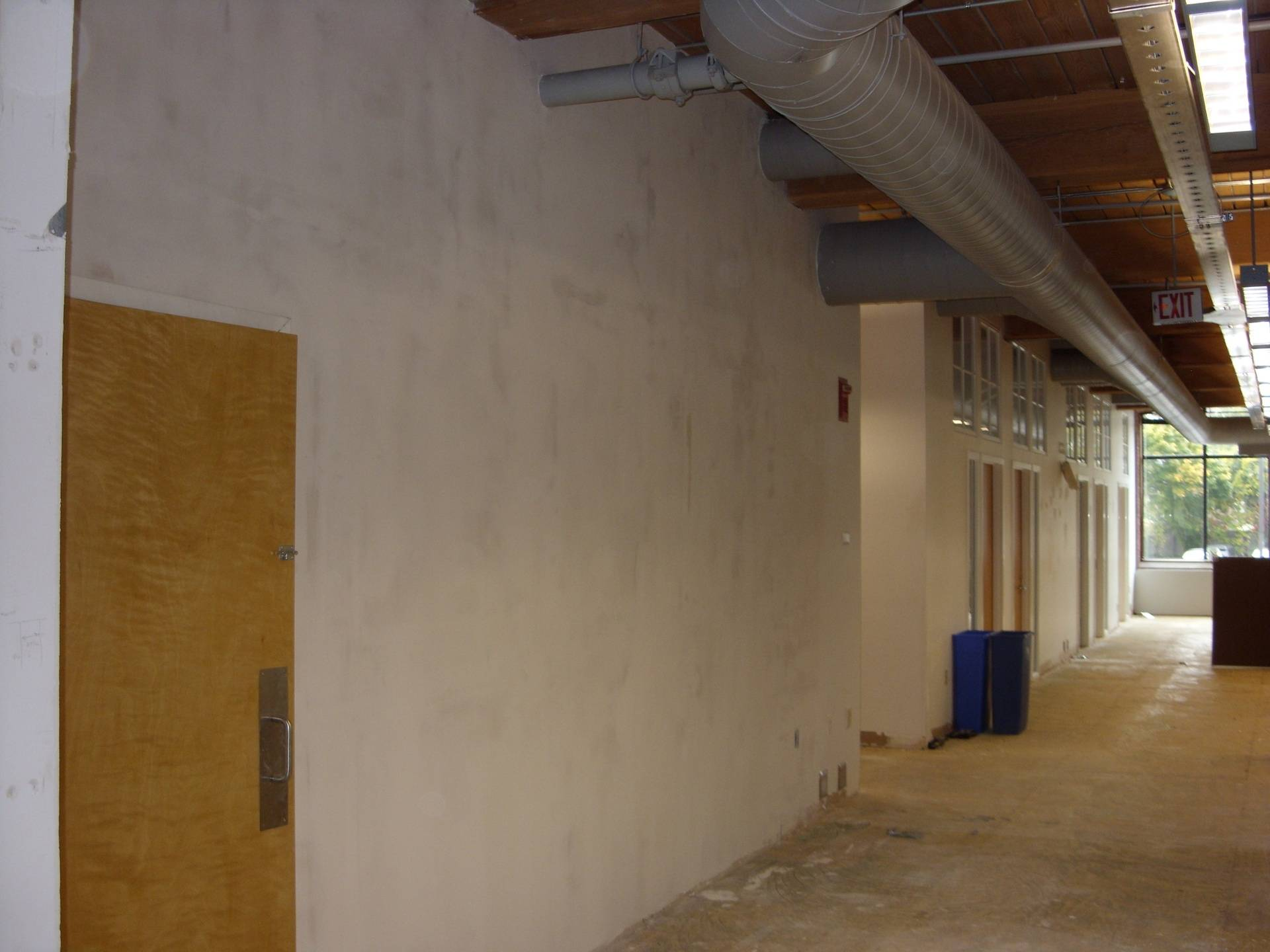 After Image 2: Opened Up Hallway with Storage Room to the Left