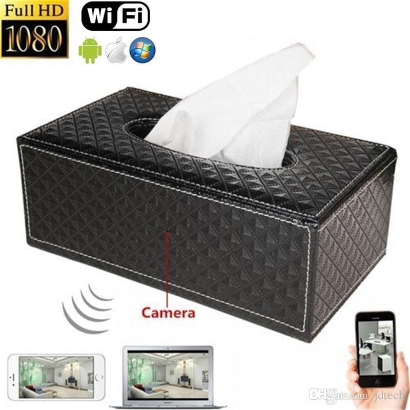 Spy Tissue Box Wifi