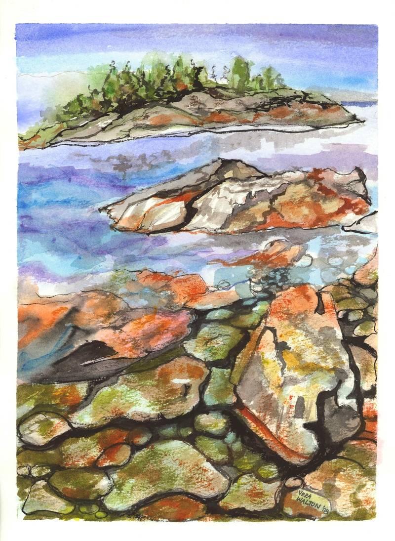 Northern Ontario shoreline
