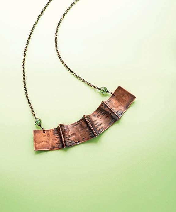 Batman Fold Forming Necklace