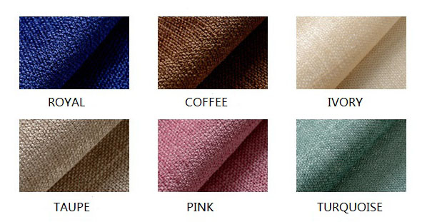 Thermal Blackout Curtains Panel Drapes Swatch