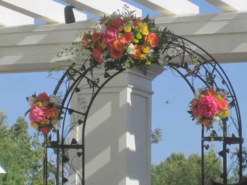 Arch Floral Pieces