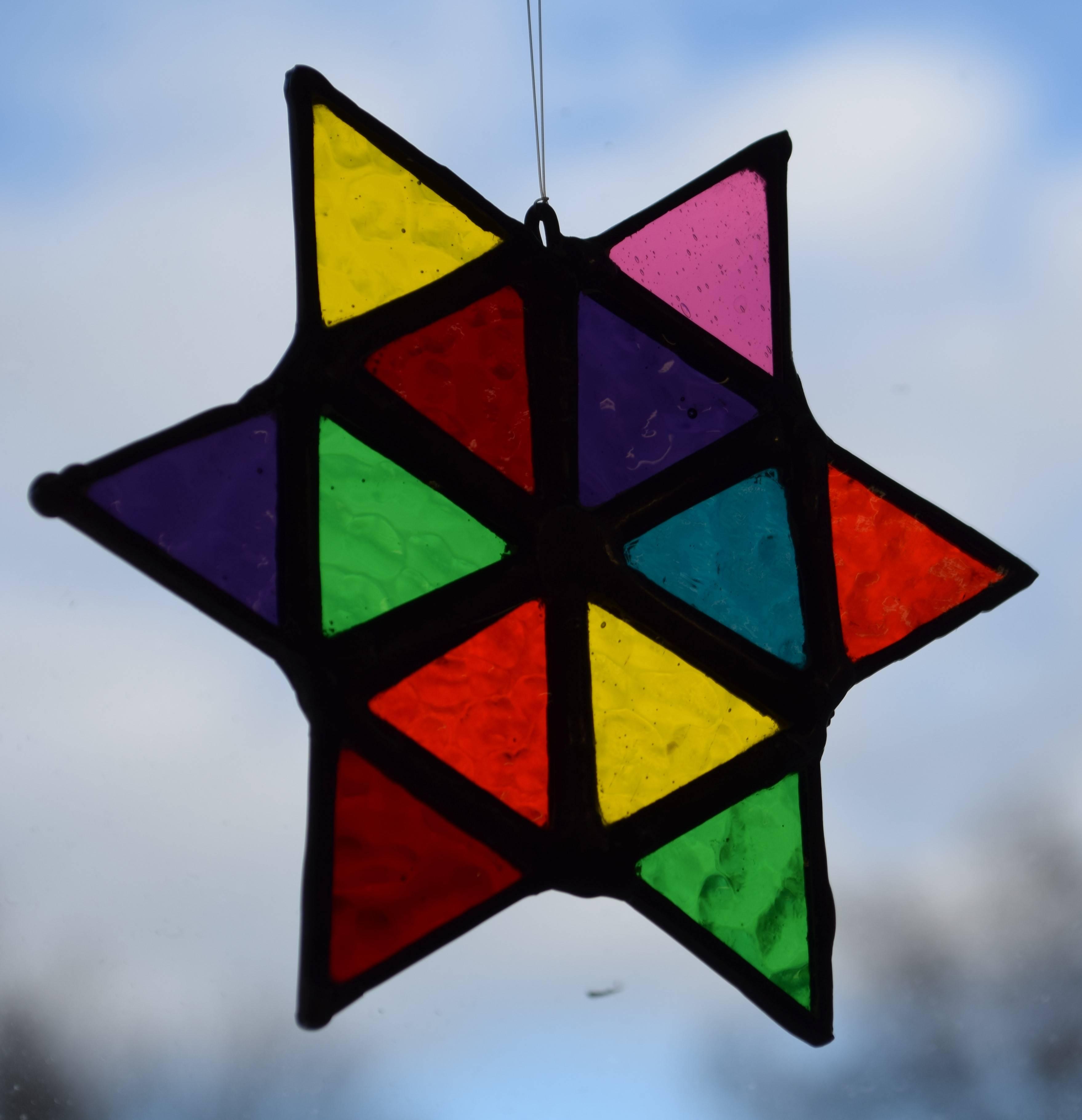Multicoloured Star