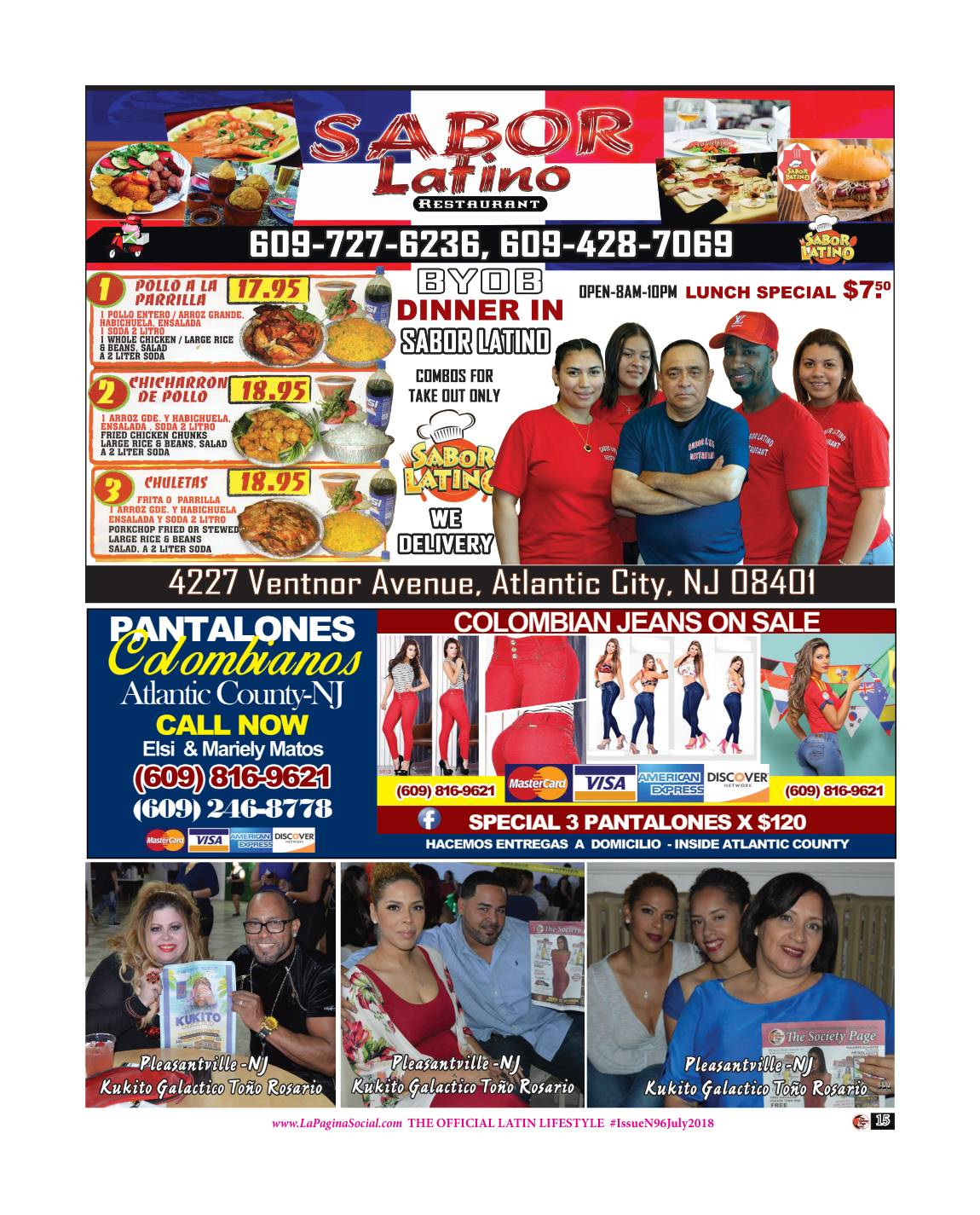 14 The Society Page en Espanol Issue N96 July 2018