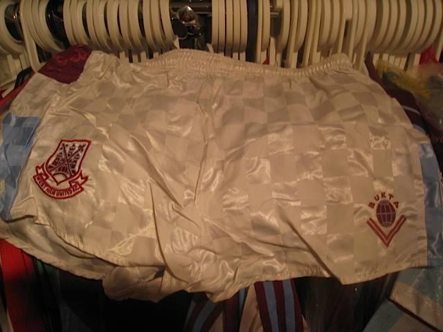Away players shorts 1989/90