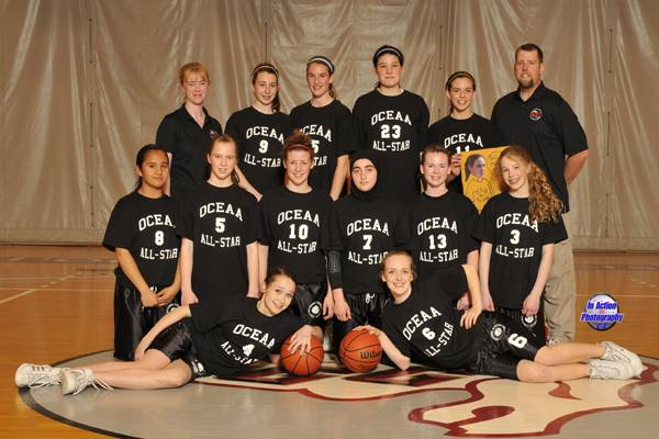 OCEAA Girls All-Stars