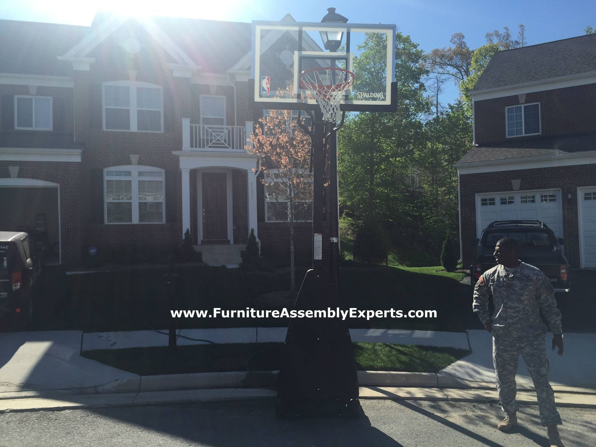 walmart portable basketball hoop assembly service in lorton va