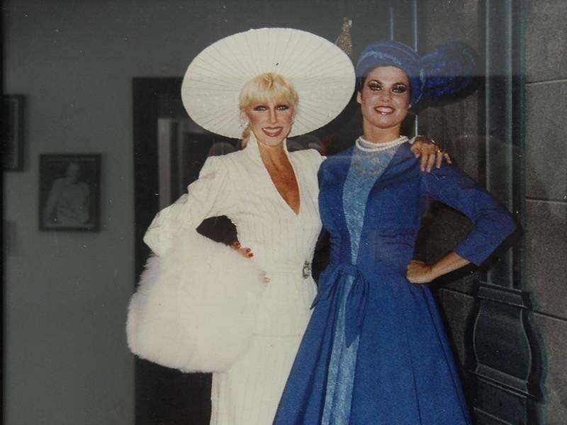 Suzanne and Caroline