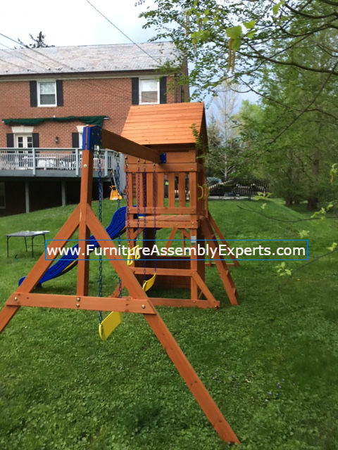 swing set installation service in capitol heights MD
