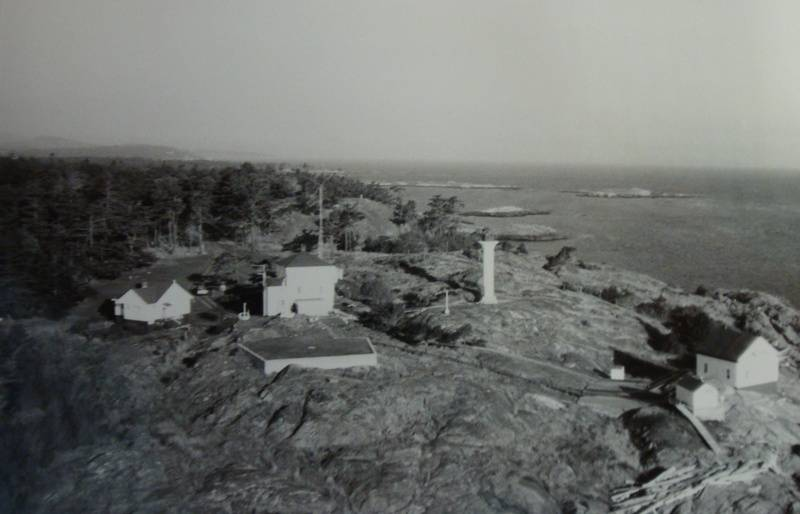 Discovery Island Light station in 1978