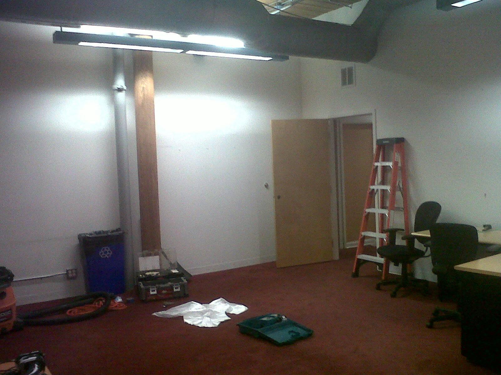 Before Image 1: Opening up Floor Plan