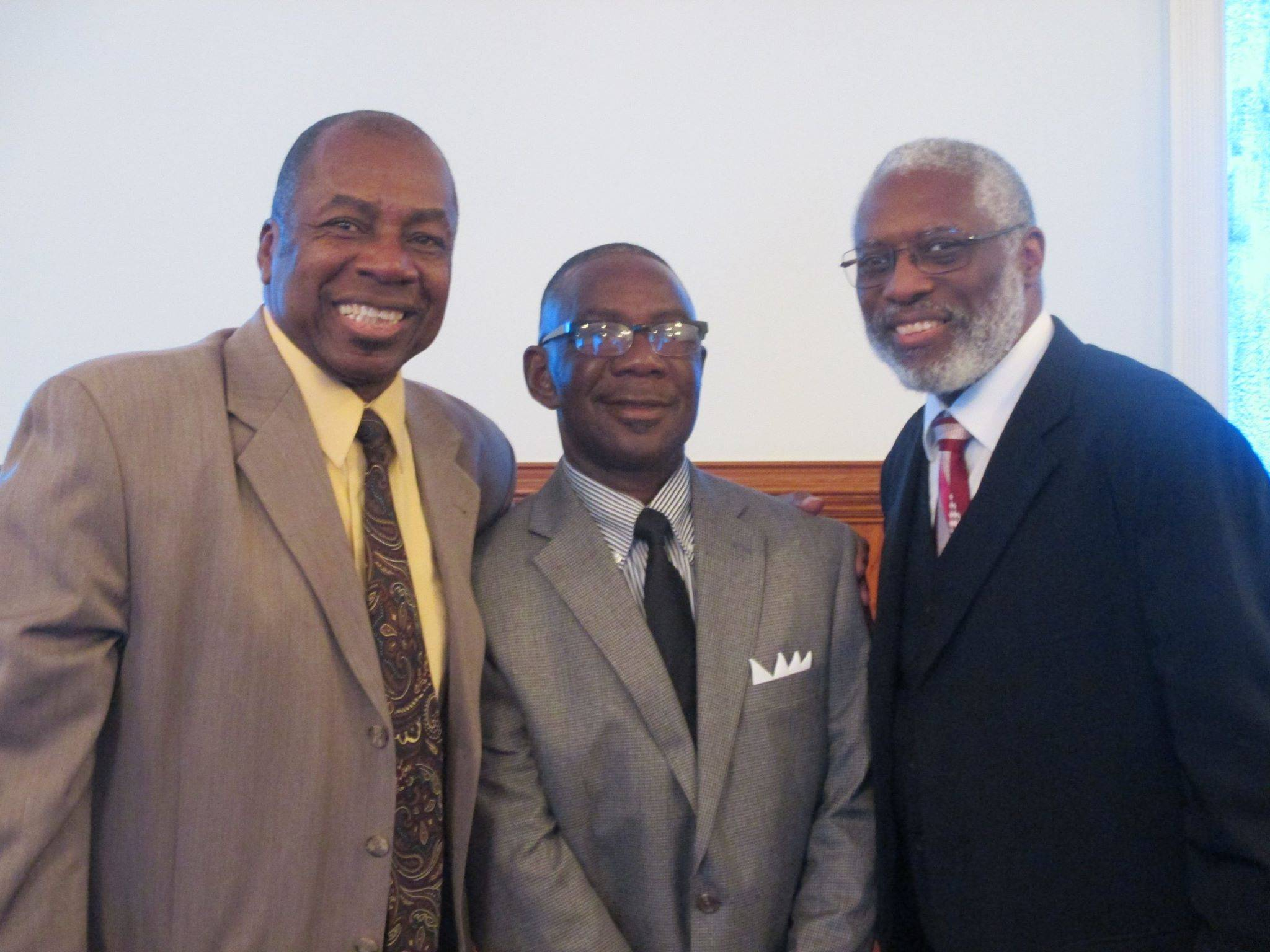 Pastor Joseph and J.Bishop Knox and Deacon Mazyck