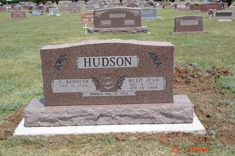 Located in Frederick Cemetery, Frederick,Oklahoma
