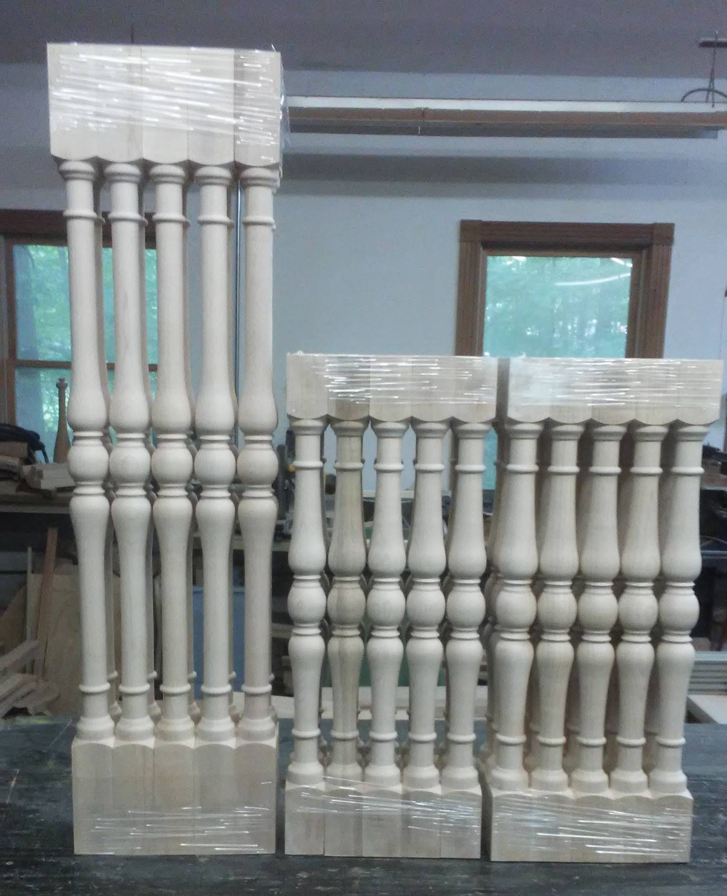 maple balusters going to VT