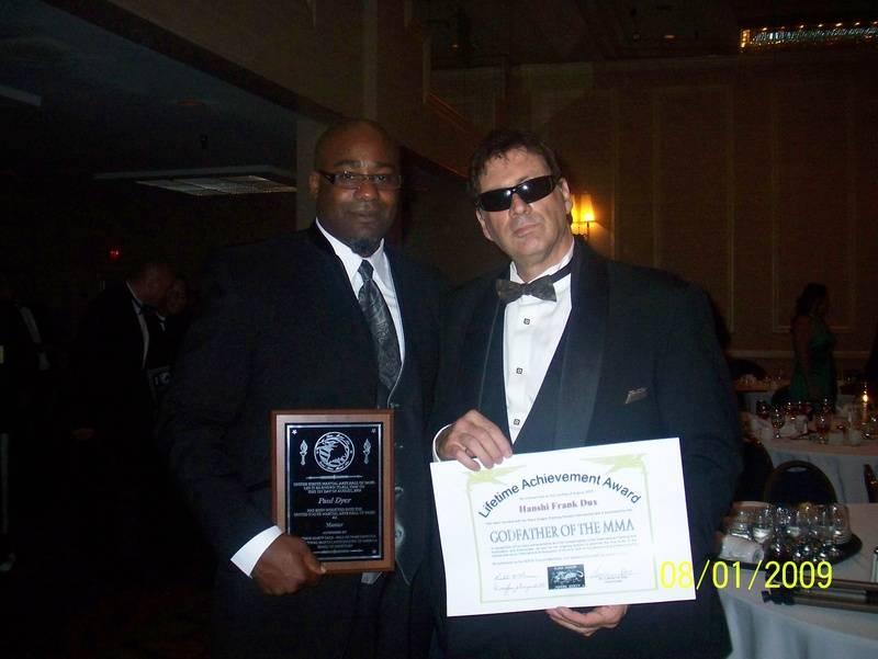 Paul Dyer and Martial Arts legend Frank Dux