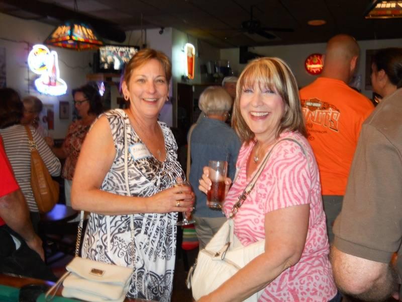 Claudia Duncan McGrath and Sherry Seward Gomis