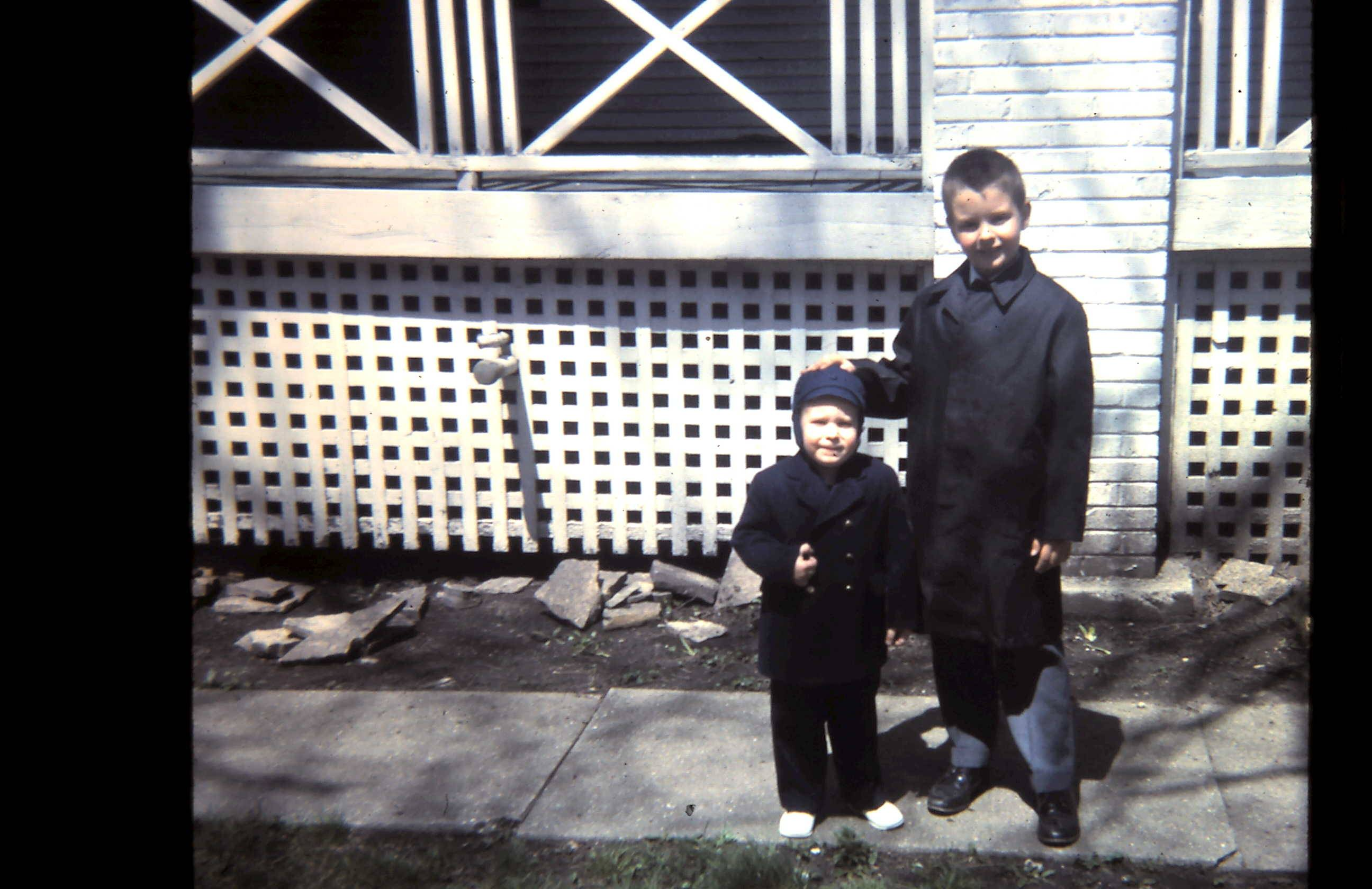 Robby and me, Easter 1966