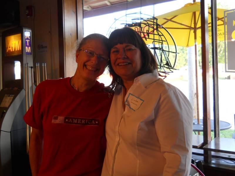 Stephanie Maxwell McAdam and Linda Biermann Hoobin