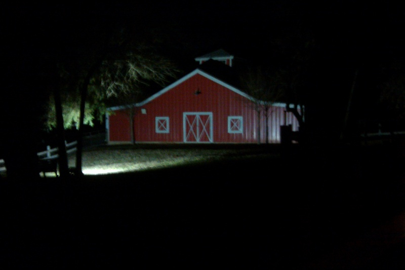Accent Barn Light #1