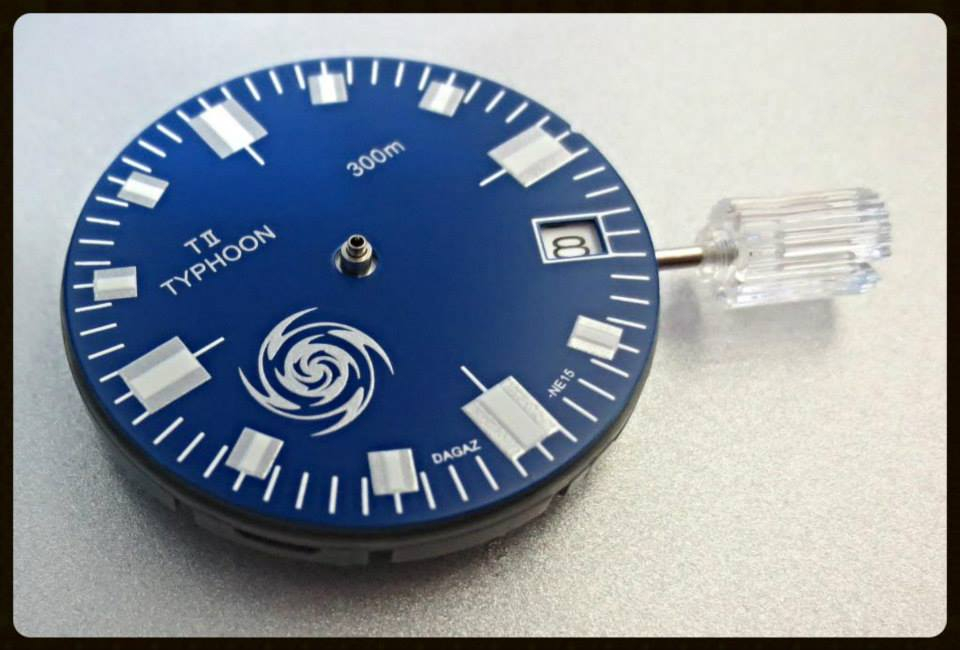 TII-TYPHOON -- PACIFIC BLUE SPECIAL EDITION DIAL