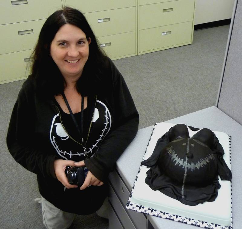 Heather's Signature Hoodie Belly Cake