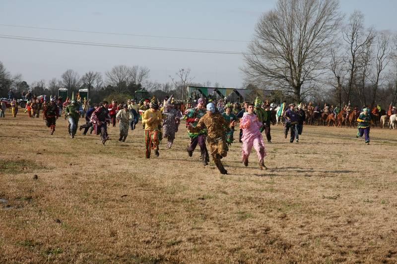 Mardi Gras still running into the farm