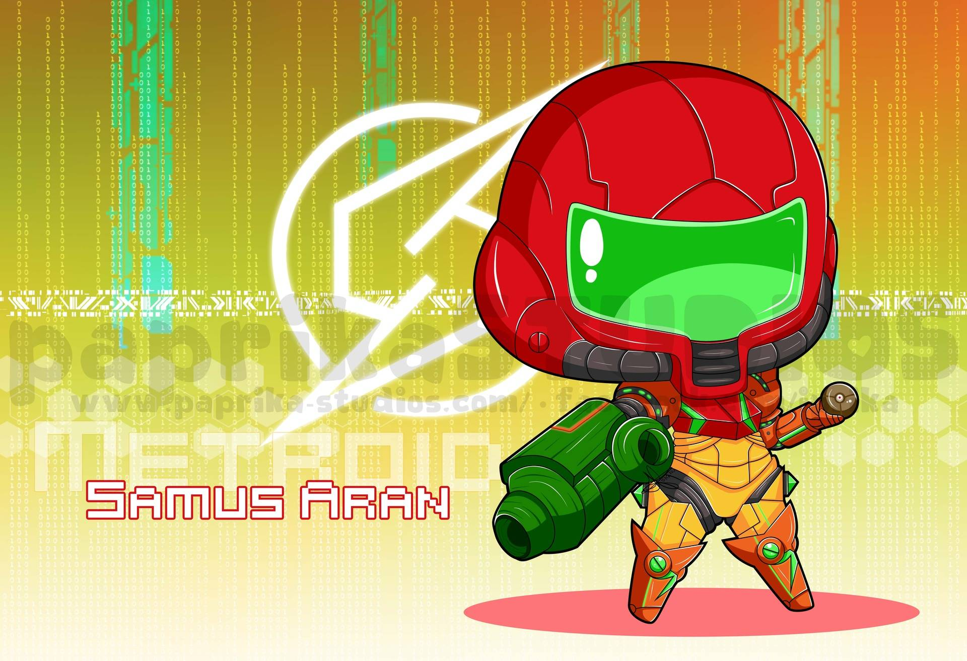 Chibi Metal Suit Samus