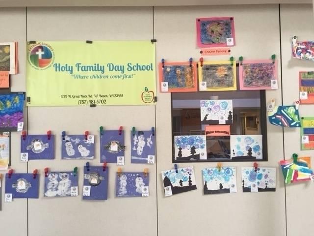 Art from PreKindergarten & Kindergarten Classes