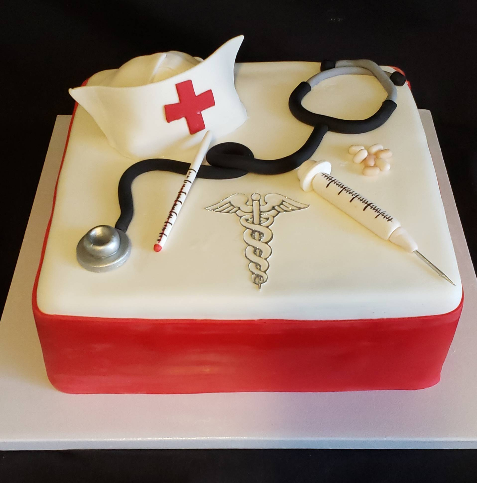 Nurse Retirement Cake