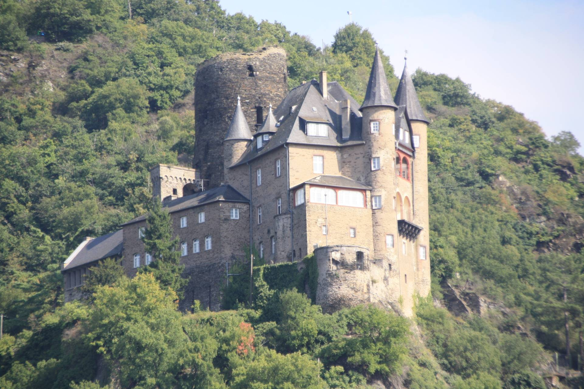 Castle on Middle Rhine