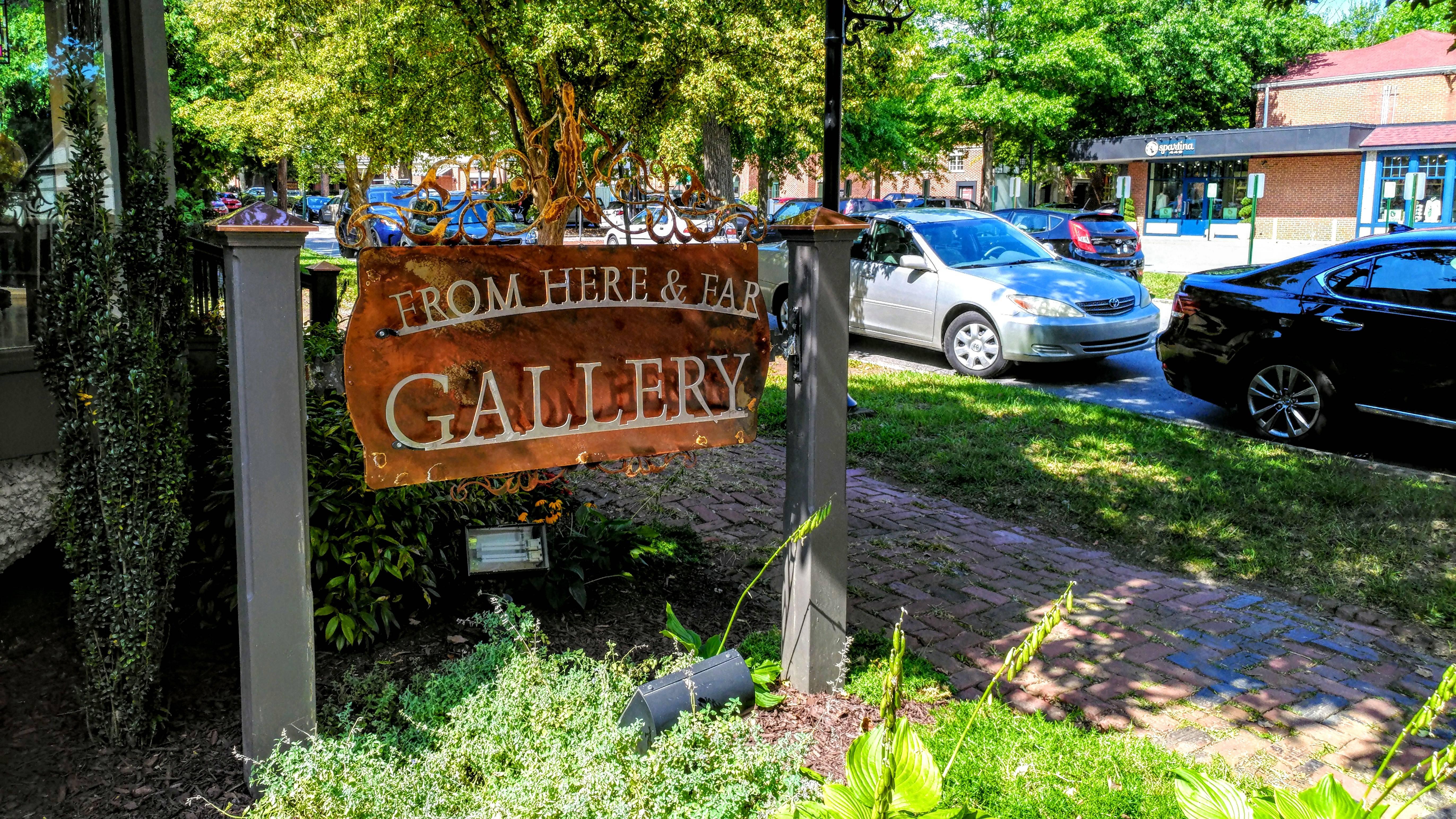 Sign in Biltmore Village, Asheville, NC