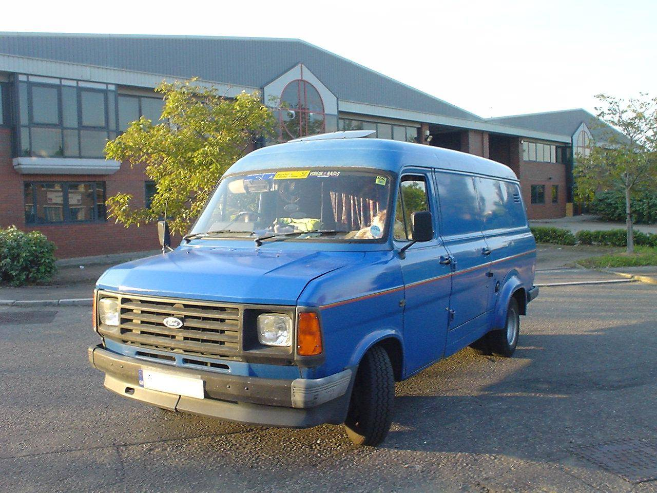 1980s long wheelbase panel van