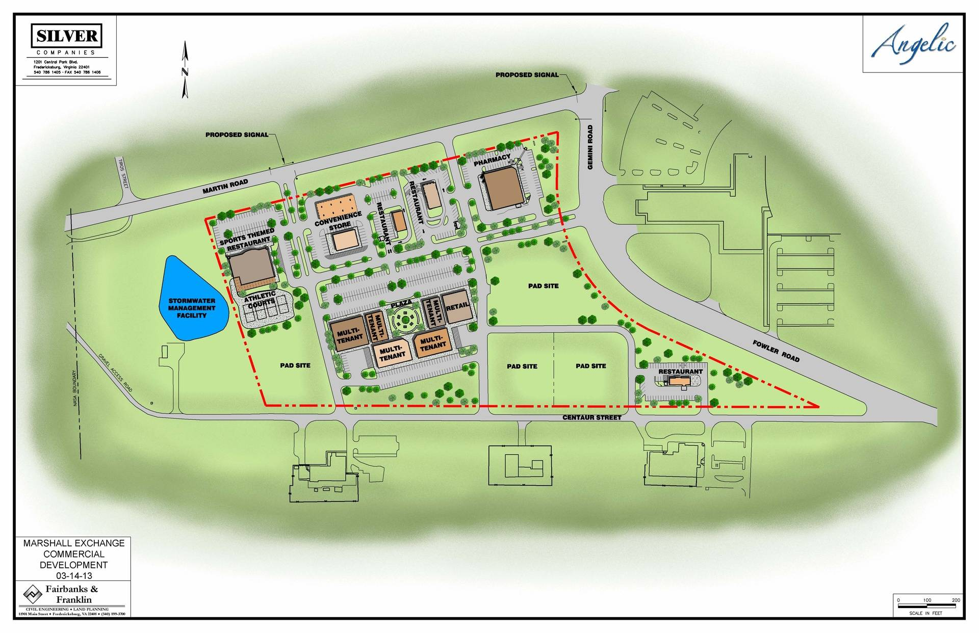 Concept Site Plan - March, 2013