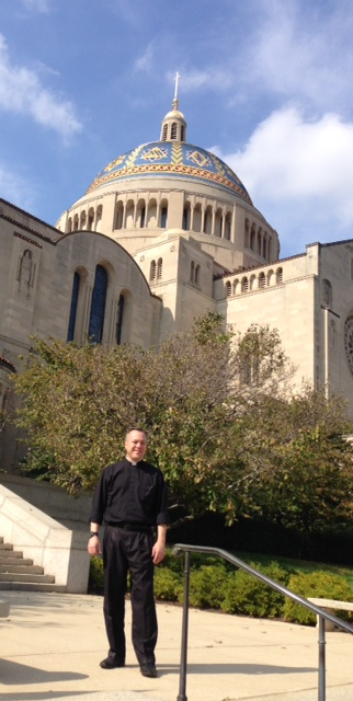 Father Christopher in Washington DC