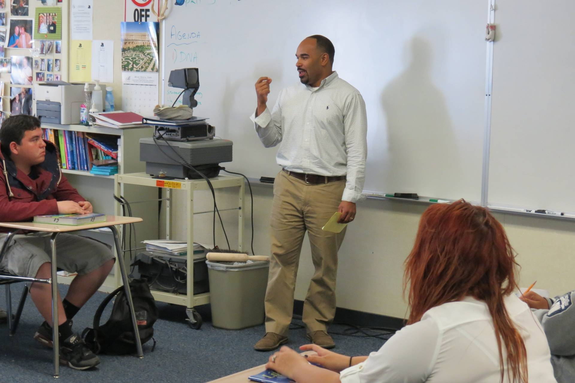 Jason Darden teaching Life Skills