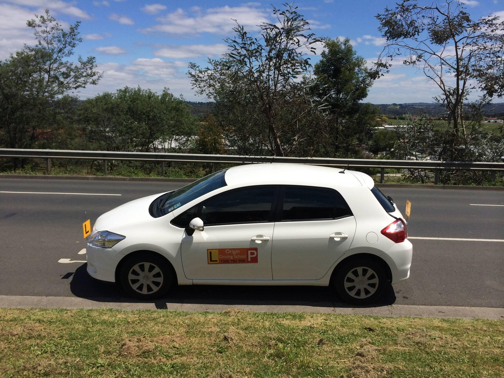 Driving School Ringwood - Toyota Corolla Hatch -  Automatic Transmission