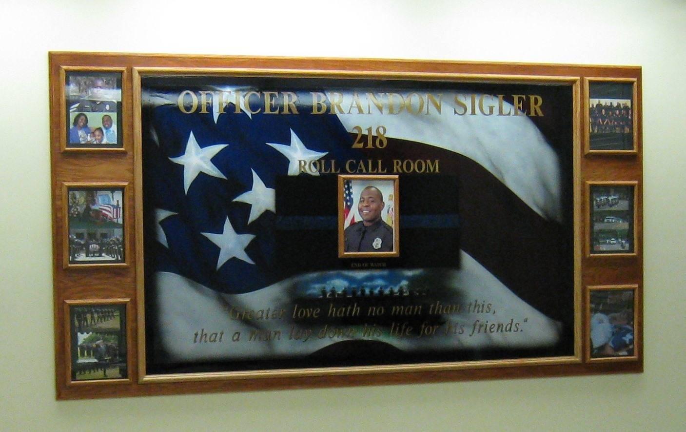 Ofc. Brandon Sigler Memorial