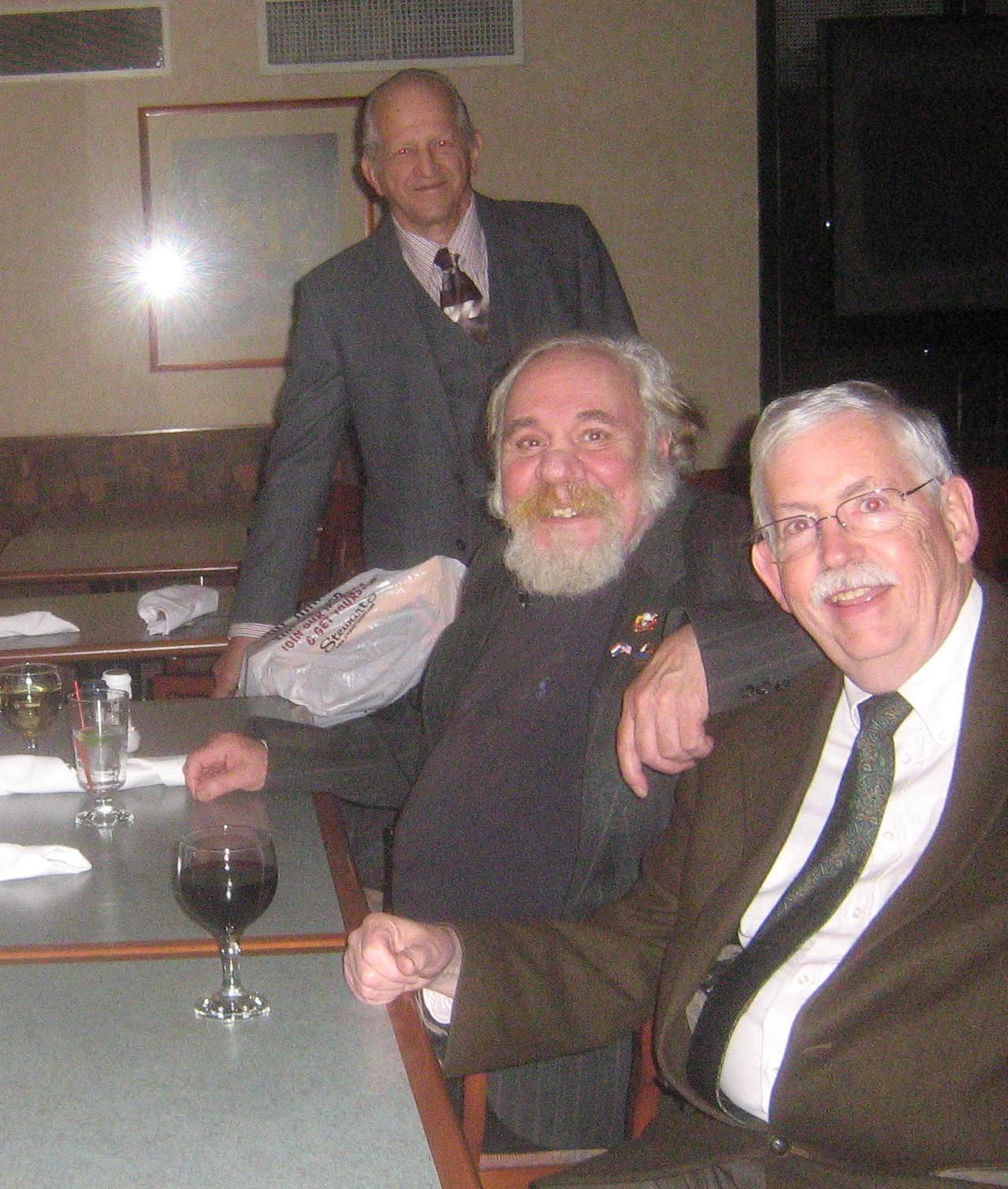 Three Wise Men at Dutch Settler Party